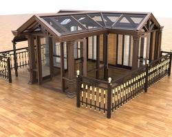 中式近代阳光房建造