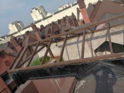 阳光房钢架